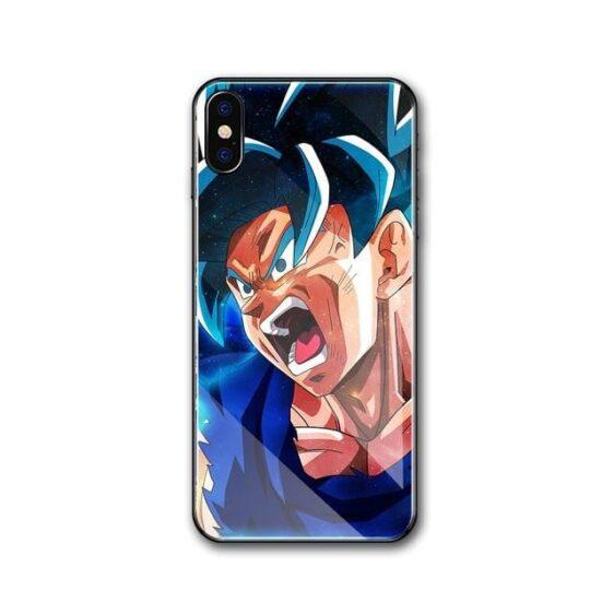 Fierce Goku Super Saiyan Blue iPhone 11 (Pro & Pro Max) Case