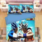 DBS Vegeta Blue Vs Goku Ultra Instinct Bedding Set