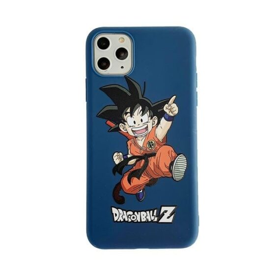 DBZ Happy Kid Goku Blue iPhone 11 (Pro & Pro Max) Case