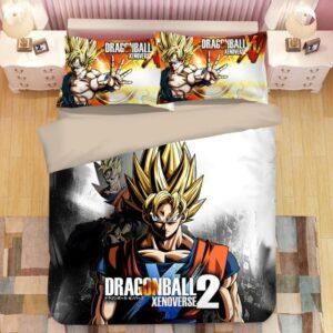 Dragon Ball Xenoverse 2 Son Goku Future Gohan Bedding Set
