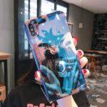 DBZ Goku Cool Fierce Stare iPhone 11 (Pro & Pro Max) Case