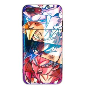 Dragon Ball Goku's Transformation iPhone 11 (Pro & Pro Max) Case