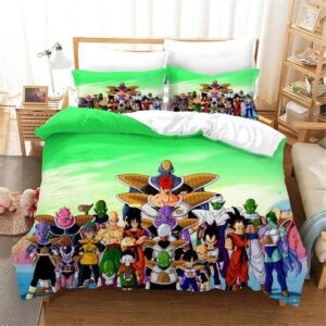 DBZ All Characters Planet Namek Battle Bedding Set