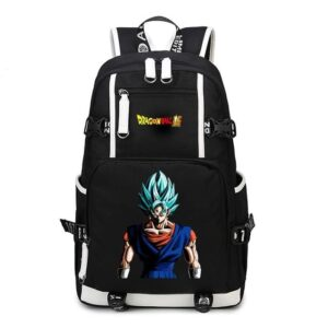 Dragon Ball Super Dangerous Vegito Look Black Backpack