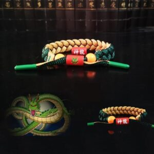 Dragon Ball Z Shenron Design Nylon Braided Bracelet