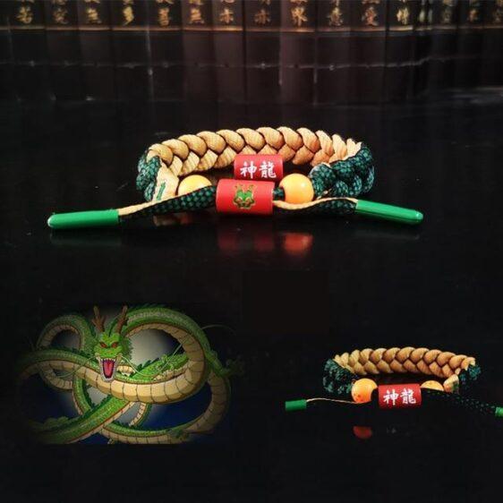Dragon Ball Z Shenron Design Nylon Braided Bracelet