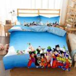 Dragon Ball Z Fighters Kame House Island Bedding Set