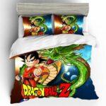 Dragon Ball Z Fierce Kid Goku & Shenron Bedding Set
