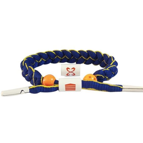 Prince Of Saiyans Vegeta Blue Nylon Braided Bracelet
