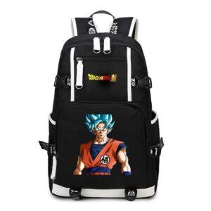 Dragon Ball Super Son Goku Super Saiyan God Backpack Bag