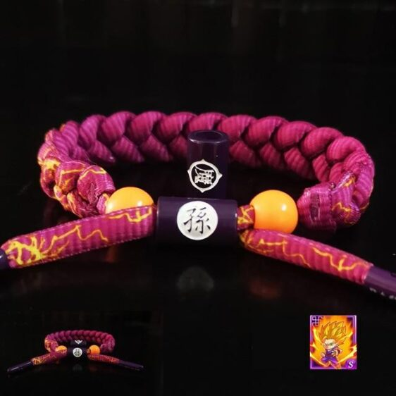 Dragon Ball Z Son Gohan Inspired Nylon Braided Bracelet
