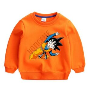 Dragon Ball Z Notice Me Goten Fusion Position Kids Sweatshirt