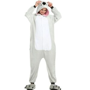 Cute Koala Bear Onesie Grey Design Kigurumi Pajama