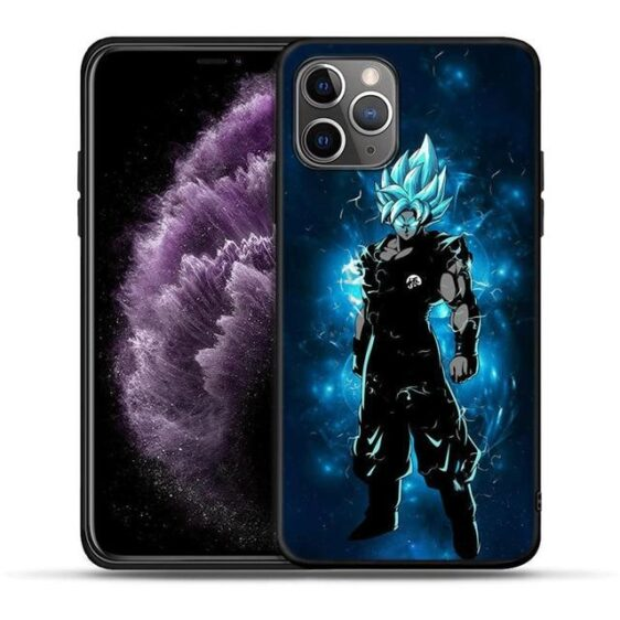 Son Goku Blue Raging Aura iPhone 11 (Pro & Pro Max) Case