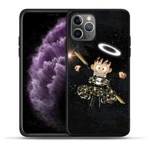 Kid Goku With Power Pole iPhone 11 (Pro & Pro Max) Case