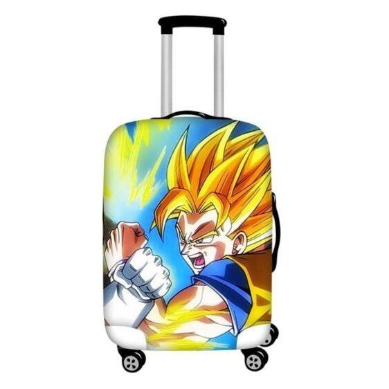 Fighting Super Saiyan Son Goku Protective Suitcase Cover