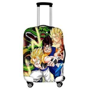 Super Saiyan Gogeta And Vegito Fusion Forms Luggage Cover