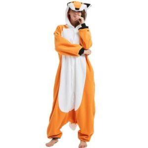 Amazing Fox Adult Onesie Hooded Outfit Kigurumi Pajama