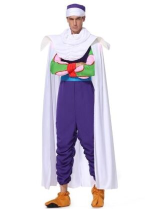 Dragon Ball Z Piccolo Purple Full Set Cosplay Costume