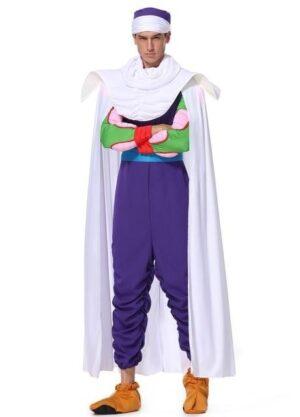 Dragon Ball Z Piccolo Purple Full Set Cosplay Costume