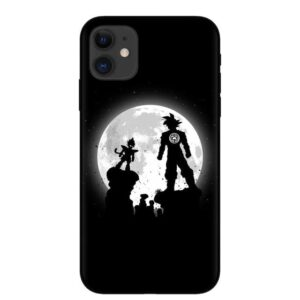 Full Moon Vegeta & Goku Black iPhone 11 (Pro & Pro Max) Case