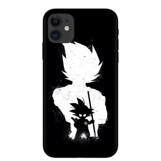 Kid Goku & Vegeta Silhouette iPhone 11 (Pro & Pro Max) Case