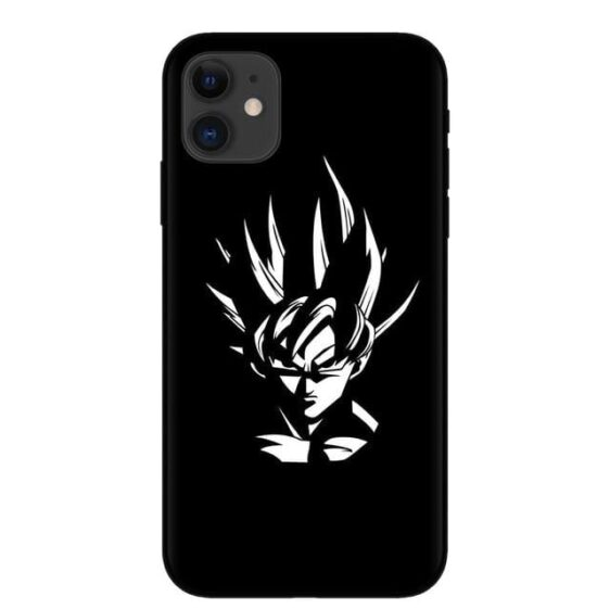 DBZ Son Goku Black & White iPhone 11 (Pro & Pro Max) Case