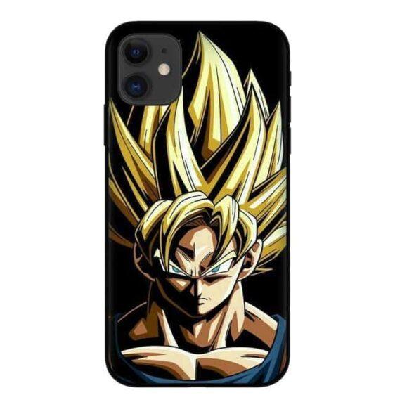 Powerful Super Saiyan Goku iPhone 11 (Pro & Pro Max) Case