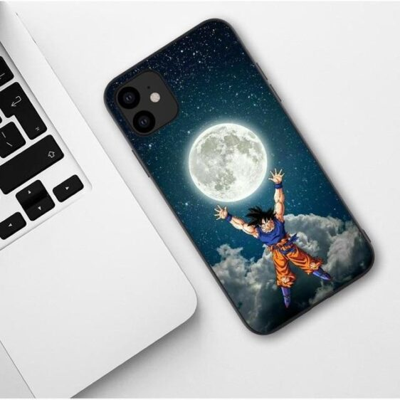 DBZ Goku Full Moon Starry Night iPhone 11 (Pro & Pro Max) Case