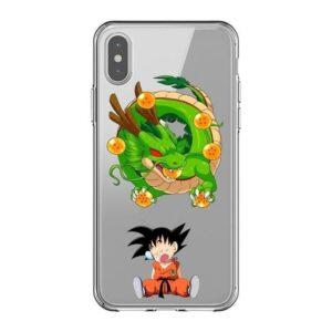 Sleeping Goku Shenron Dragon Balls iPhone 11 (Pro & Pro Max)Case