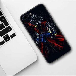 Xeno Goku Black Silhouette iPhone 11 (Pro & Pro Max) Case