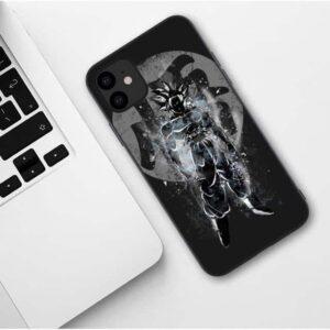 DBZ Goku's Silhouette Black iPhone 11 (Pro & Pro Max) Case