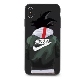 Goku Wearing A Jacket Fan Art iPhone 11 (Pro & Pro Max) Case