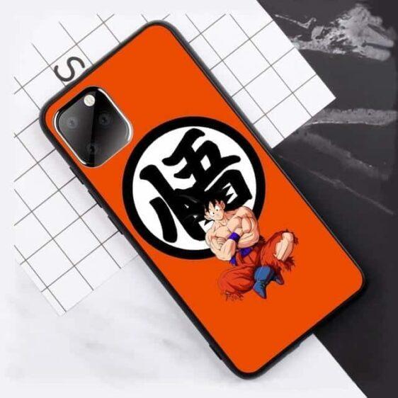 DBZ Goku Kanji Symbol Orange iPhone 11 (Pro & Pro Max) Case