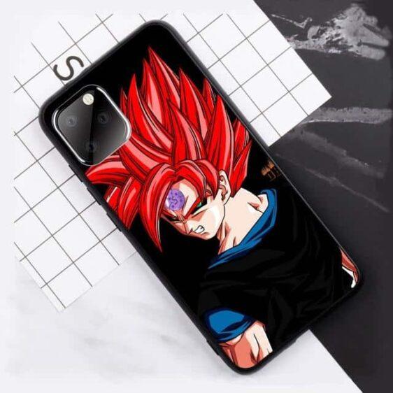 DBZ Evil Red Hair Goku iPhone 11 (Pro & Pro Max) Case