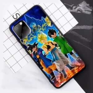 Goku & Vegeta Fusion Fan Art iPhone 11 (Pro & Pro Max) Case