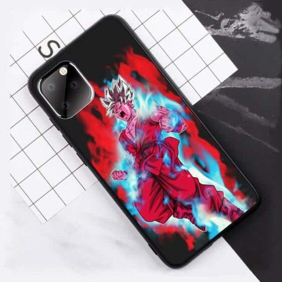 DBS Goku Super Saiyan Blue Kaioken iPhone 11 (Pro & Pro Max) Case