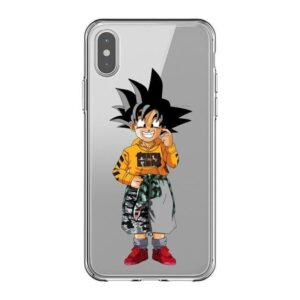 Kid Goku Wearing Casual Clothes iPhone 11 (Pro & Pro Max) Case
