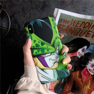 DBZ Villain Cell Famous Smirk iPhone 11 (Pro & Pro Max) Case
