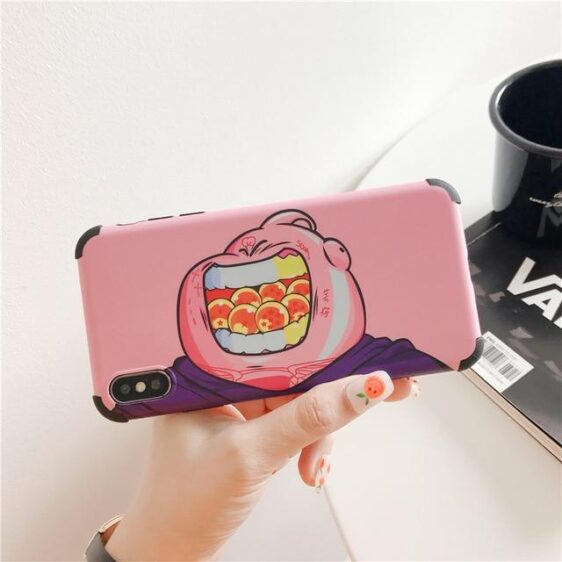Majin Buu Eating Dragon Balls iPhone 11 (Pro & Pro Max) Case