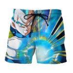 Dragon Ball Super Saiyan Vegeta Blue Energy Punch Boardshorts