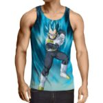 Dragon Ball Vegeta 2 Super Saiyan Kamehameha Cool Tank Top