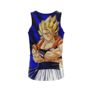 Dragon Ball Z Gogeta Super Saiyan Dope Beach Summer Tank Top Front