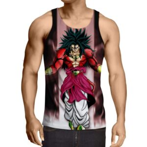 Dragon Ball Z Legendary Super Saiyan Broly 4 Dope Tank Top