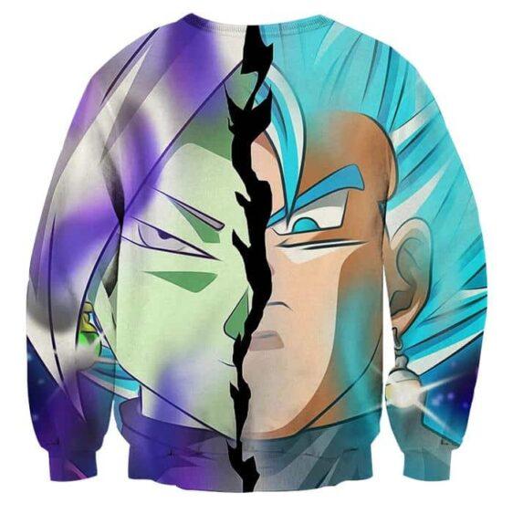 Dragon Ball Super Fused Zamasu Vegito Cool Glare Sweatshirt