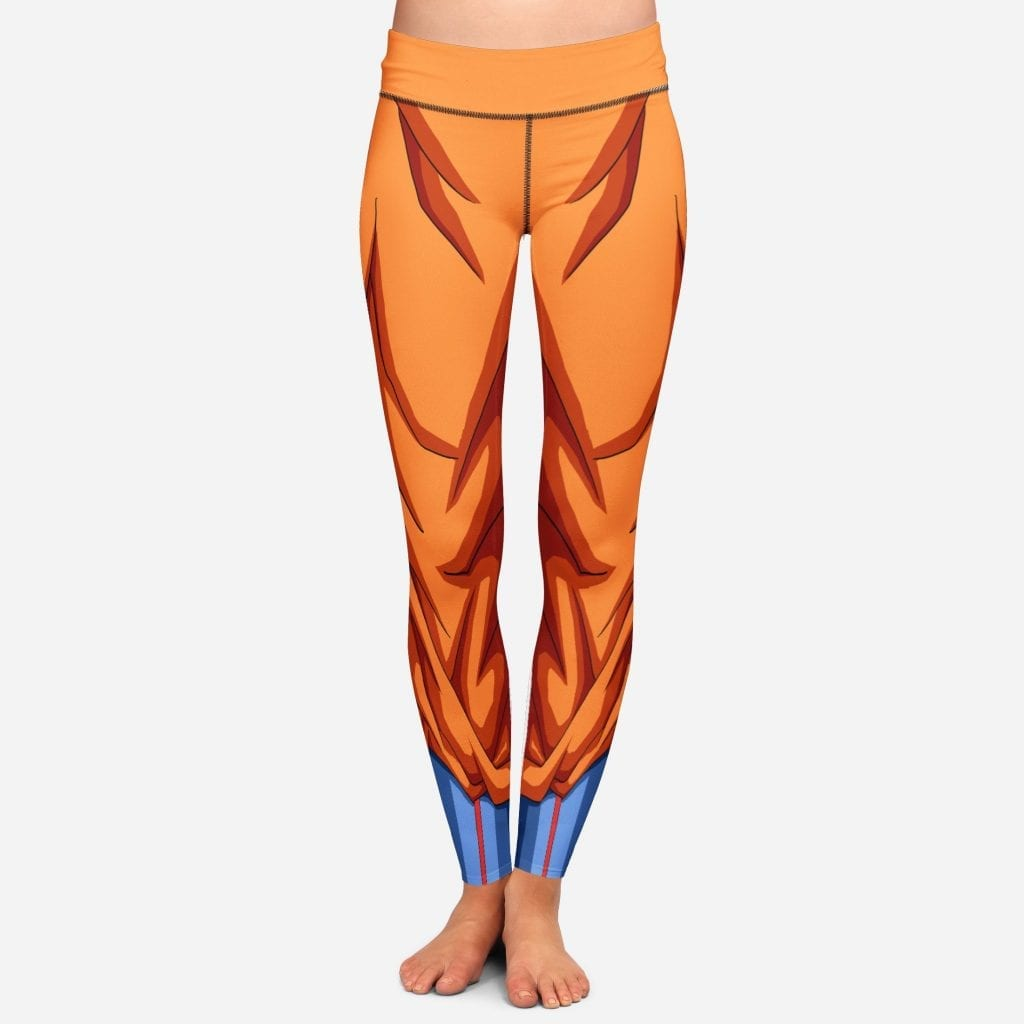 DBZ Goku Women Cosplay Yoga Pants