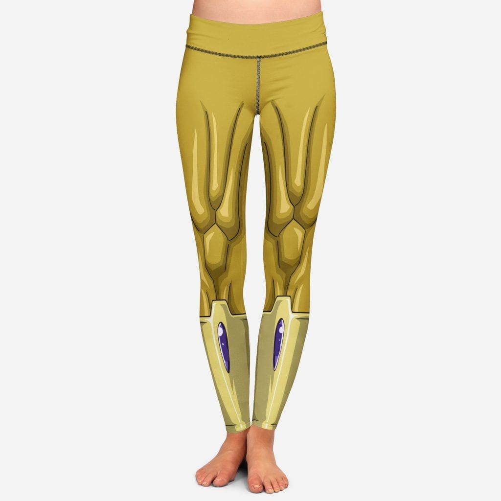 DBZ Golden Frieza Women Cosplay Leggings
