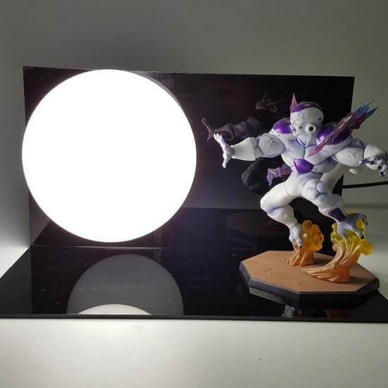 Emperor of the Universe Frieza Death Cannon Kamehameha DIY Lamp
