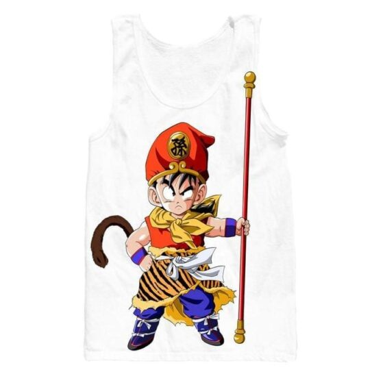Journey to the West Monkey King Kid Gohan Tank Top