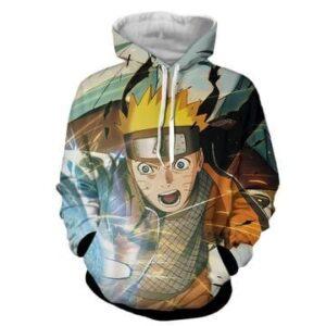Naruto Fight Kaguya Rasengan Streetwear Design Hoodie